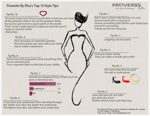 Proverbs By Efua Top 10 Style tips