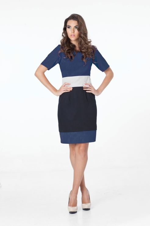 heather front Navy