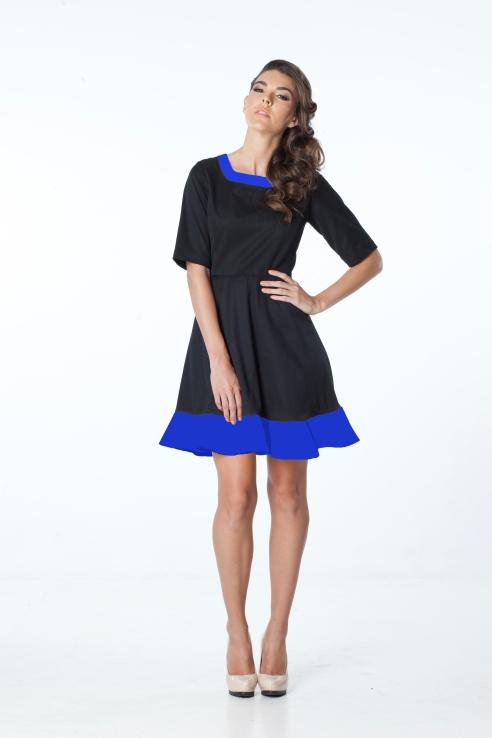 Rachel Dress -blue